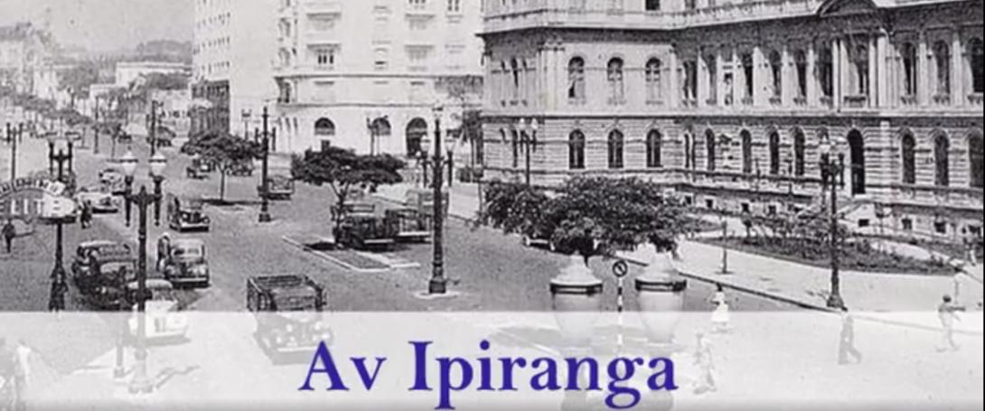 A capital paulista em 1945