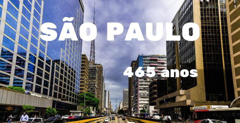 São Paulo: 465 anos